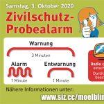 Zivilschutz - Probealarm