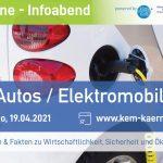 Einladung zur Online-Infoveranstaltung Elektromobilität - E-Autos - KEM