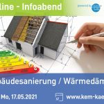 Online Infoabend: Thermische Sanierung/Wärmedämmung - KEM St. Veit